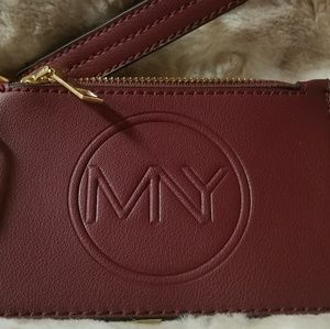 Marc by marc Ny leather wristlet/wallet